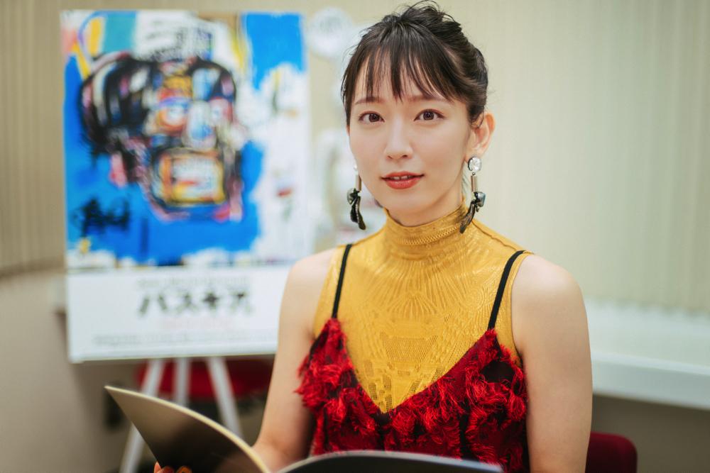 吉岡里帆『バスキア展』音声ガイドへの意気込みを語る