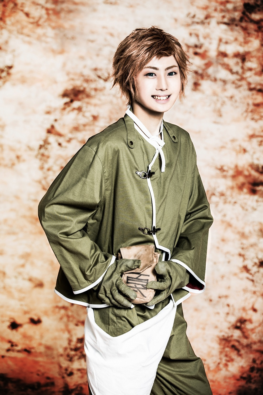 篠原 ⽴(弁丸 役) (C) 霜⽉かいり・KADOKAWA / 2018 舞台「BRAVE10〜燭〜」製作委員会