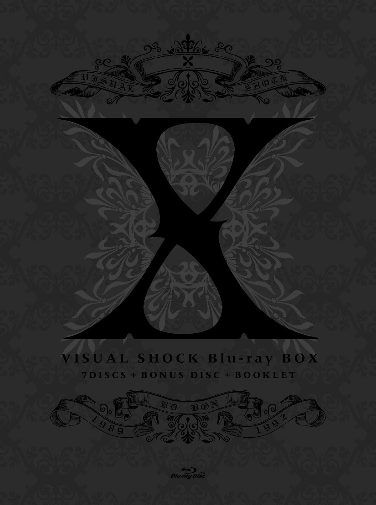 X『VISUAL SHOCK Blu-ray BOX 1989-1992』