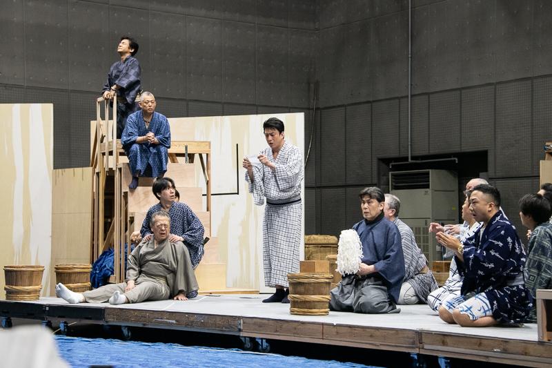 六月大歌舞伎 稽古場