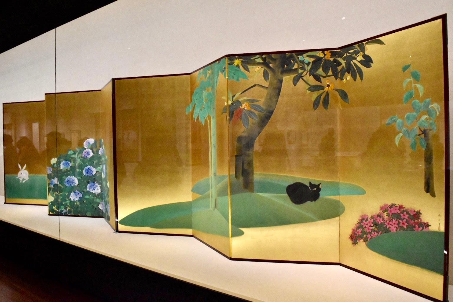 速水御舟 《翠苔緑芝》 昭和3年 山種美術館蔵