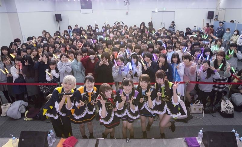 i☆Ris 女子限定イベントのようす Photo by:KOSUKE USHIZIMA