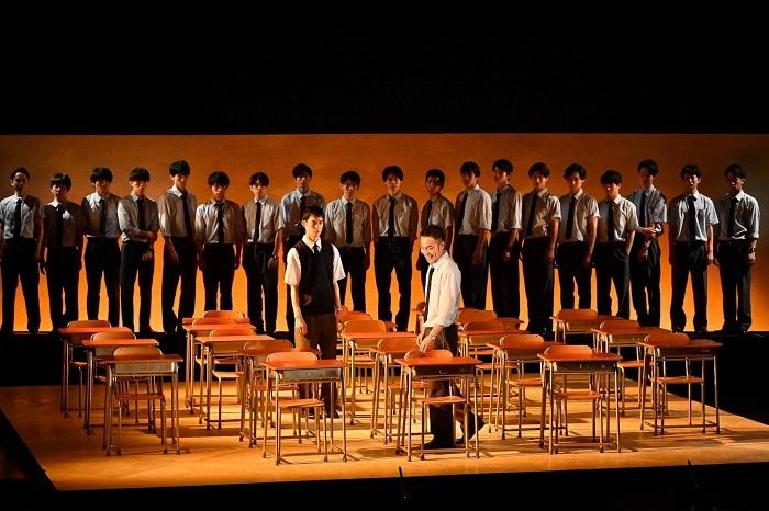 『転校生』男子校版3 撮影:阿部章仁