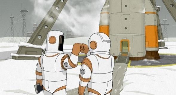 "『Mi ne mozem zhit bez kosmosa』 ©""Melnitsa"" animation studio and ""The CTB film company"". Both are production companies for my film."