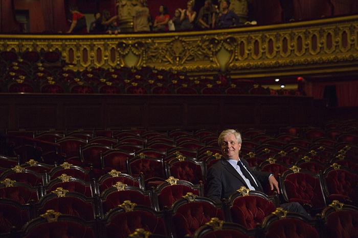 ステファン・リスナー パリ・オペラ座 総裁  (c) Elisa Haberer - Opera national de Paris