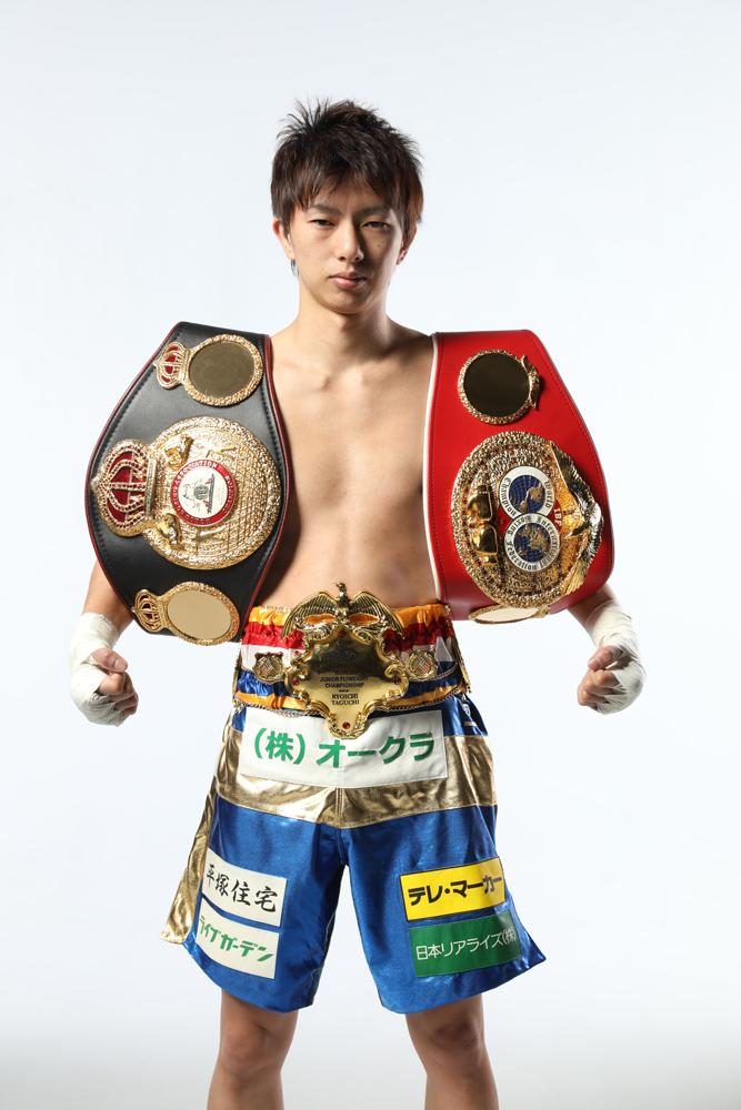 元ボクシングWBA・IBF世界ライトフライ級統一王者の田口良一選手