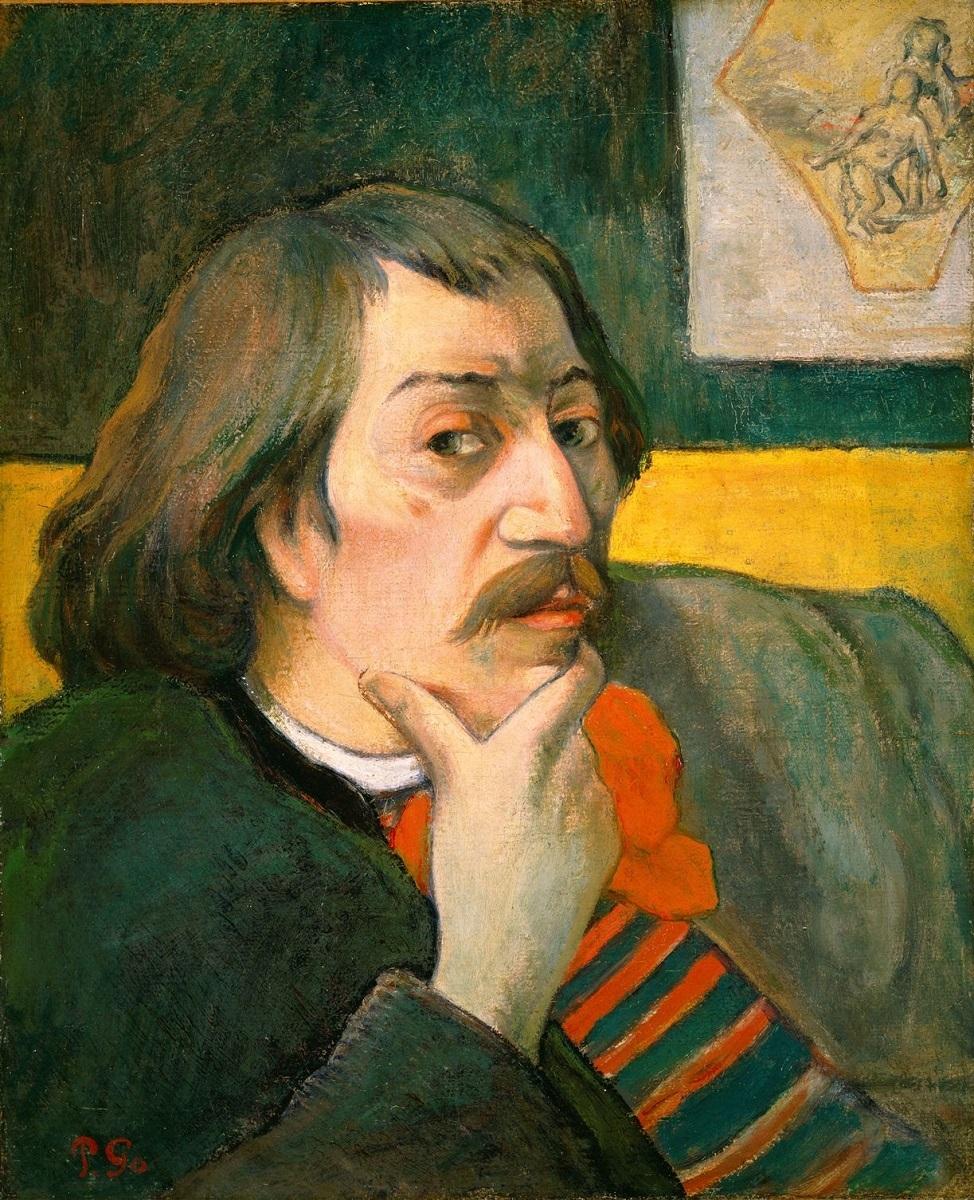 《自画像》ポール・ゴーギャン、1893年頃、Gift of Robert H. Tannahill
