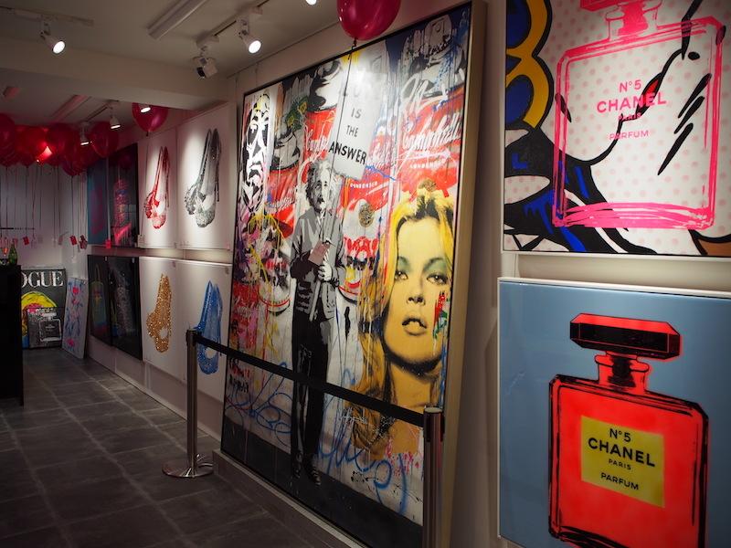 『NEW YORK GALLERY OSAKA』店内
