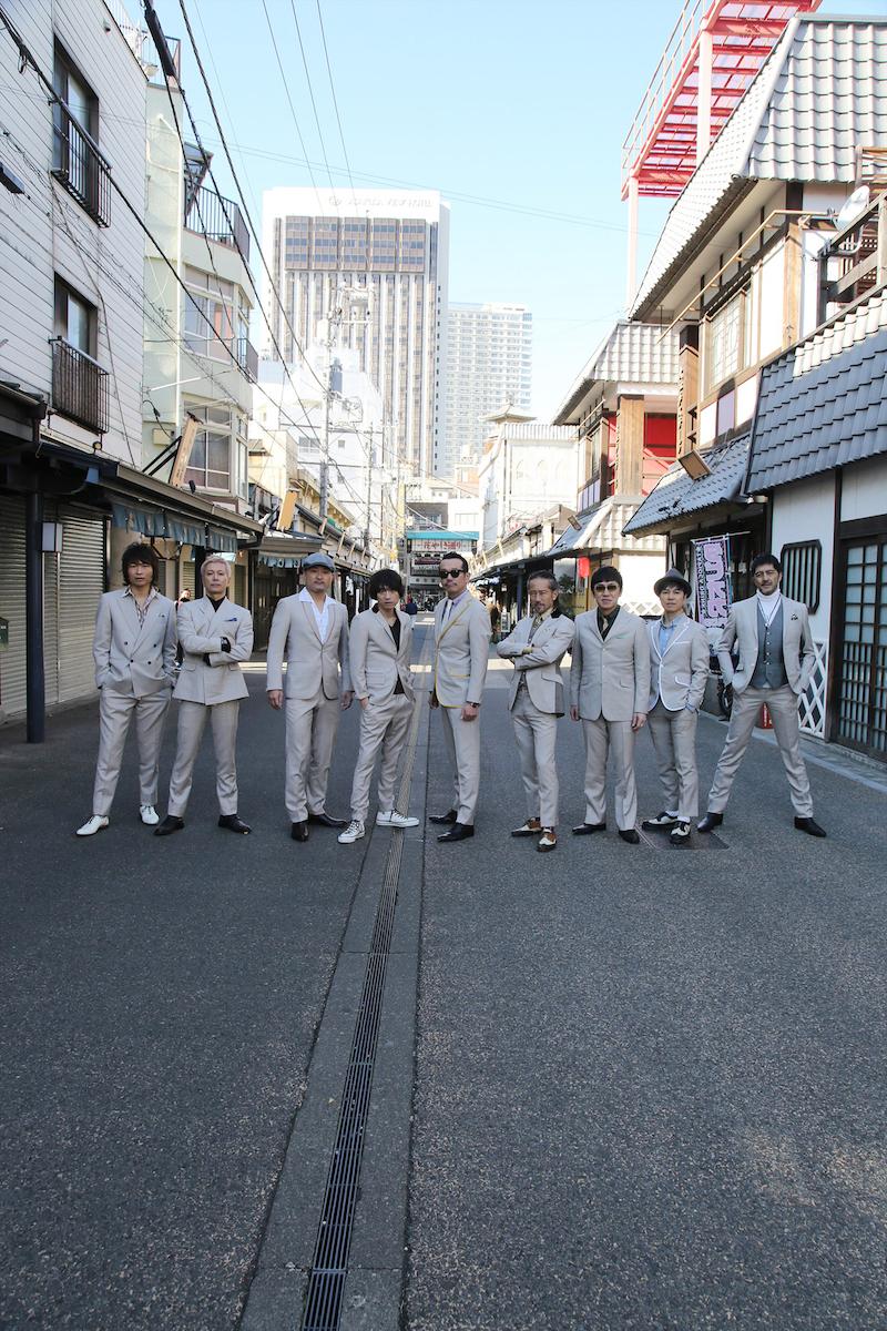 東京スカパラダイスオーケストラ(写真:梅佳代)