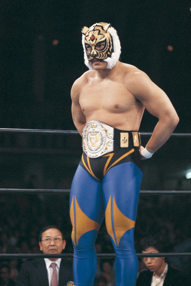 オーナーシェフの倉持智一氏が、タイガーマスクの大ファンということで実現した