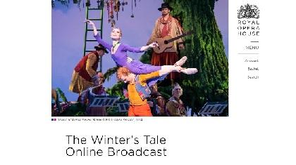 英国ロイヤル・バレエ団が『冬物語』を公式YouTubeチャンネルにて配信