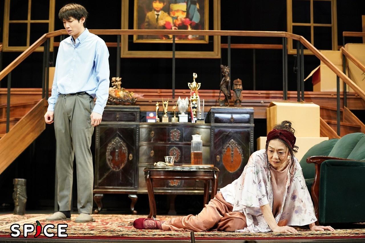 二人芝居『息子の証明』舞台写真