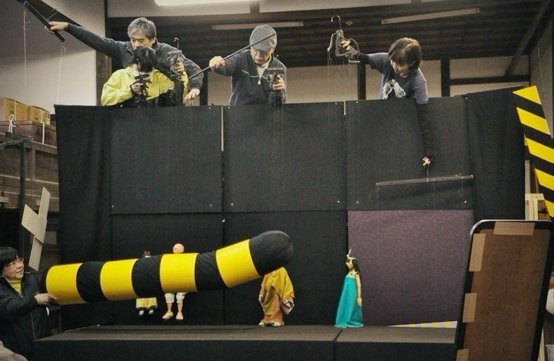 ITOプロジェクト『高丘親王航海記』稽古風景。 [撮影]吉永美和子(このページすべて)