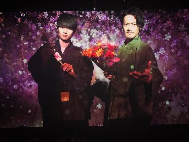 SOLIDEMO 中山優貴・山口智也が、インスタ映えアート展『FLOWERS BY NAKED』花贈りイベントに登場