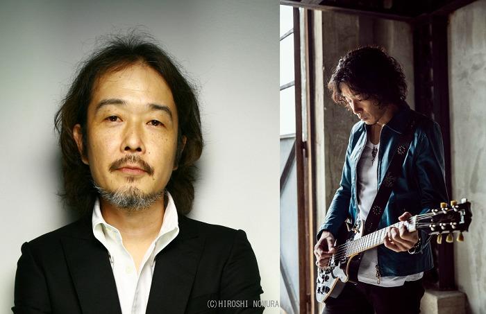 (左から)リリー・フランキー、斉藤和義