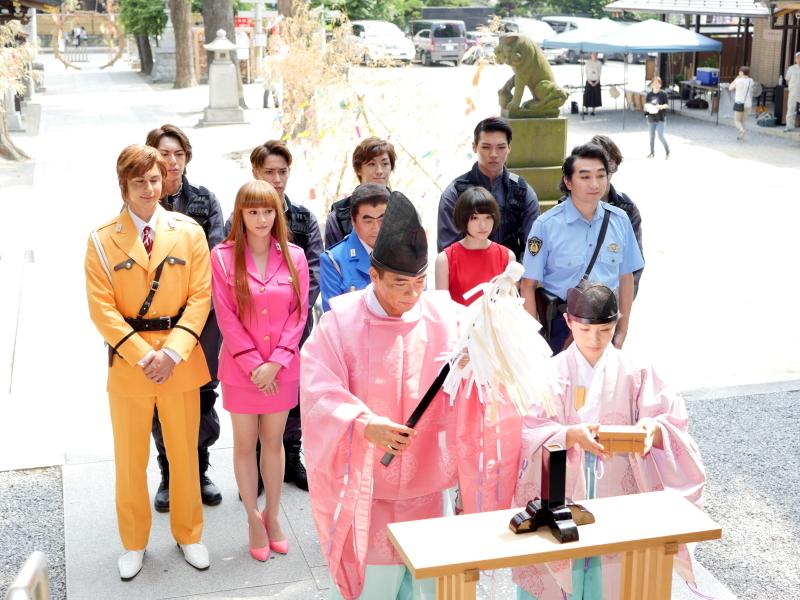 イベントが行われたのは、『こち亀』の原作でも度々登場した亀有香取神社