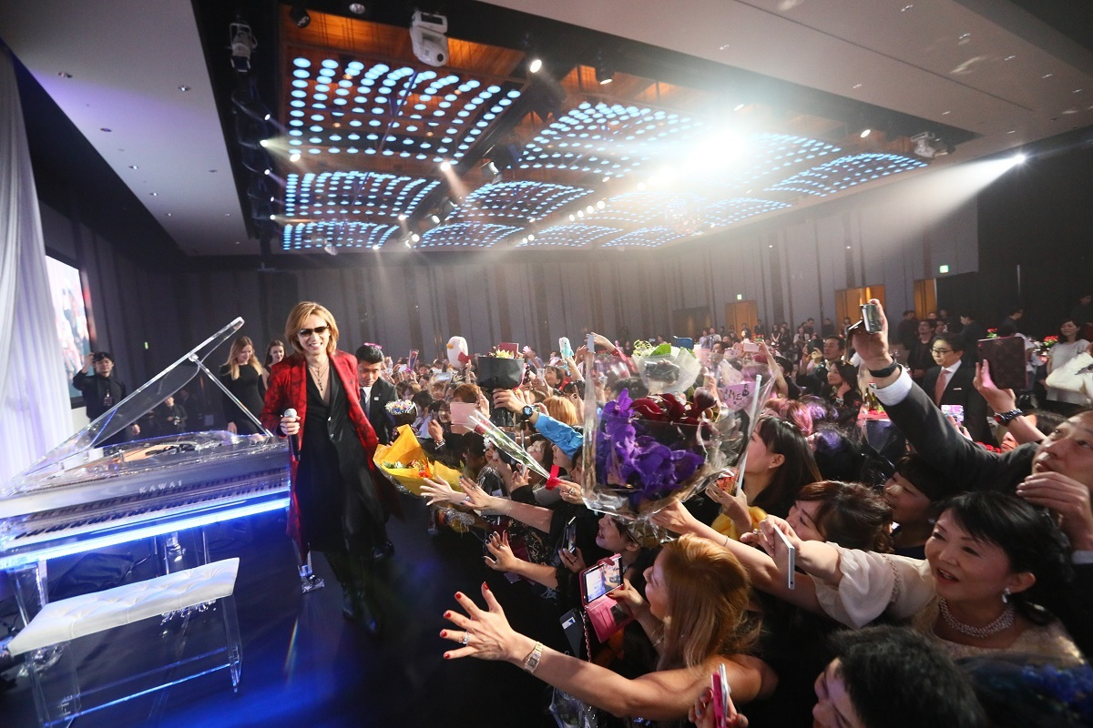 『EVENING WITH YOSHIKI 2018 IN TOKYO JAPAN 6DAYS 5TH YEAR ANNIVERSARY SPECIAL』