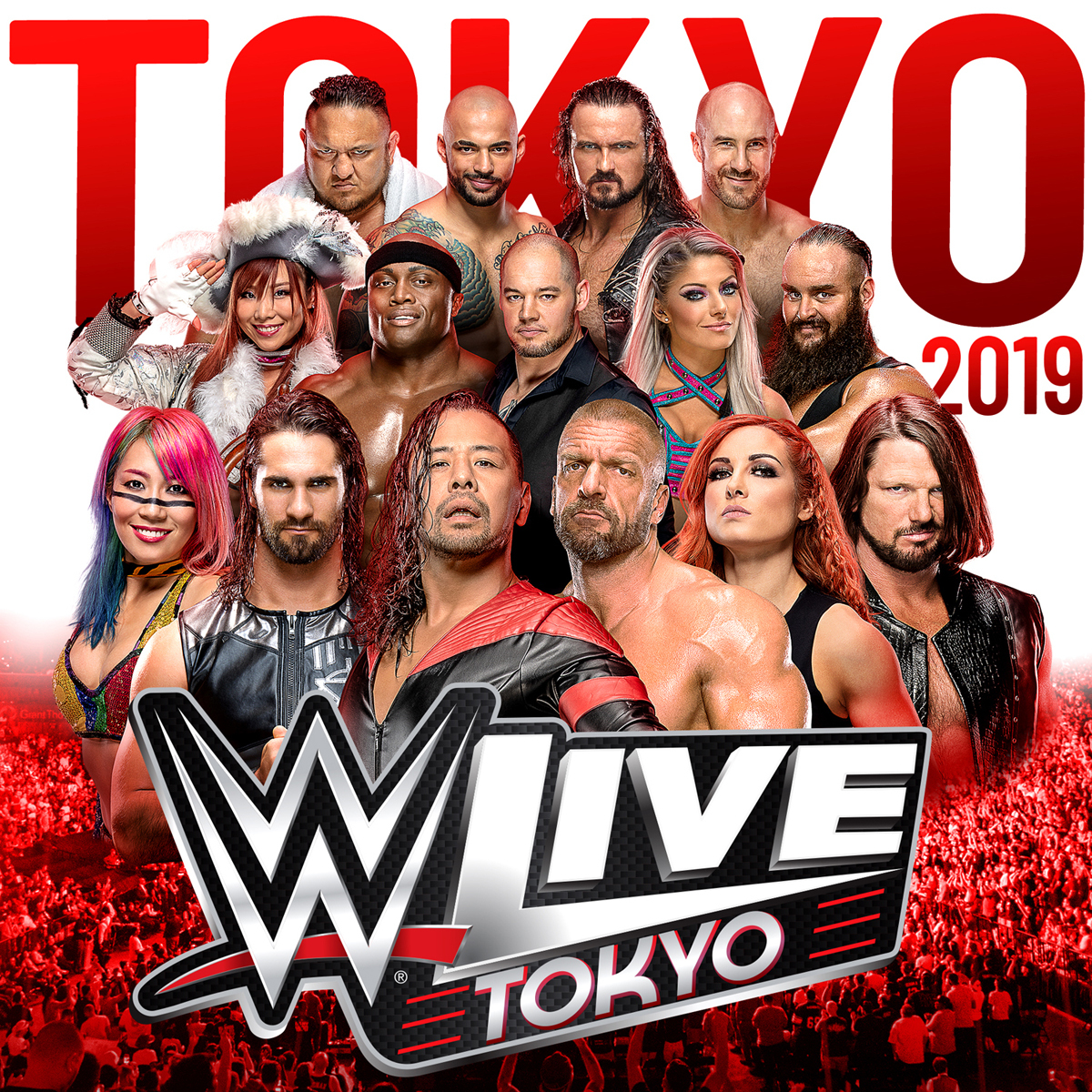 WWE日本公演『WWE Live Tokyo』は6月28日(金)開幕