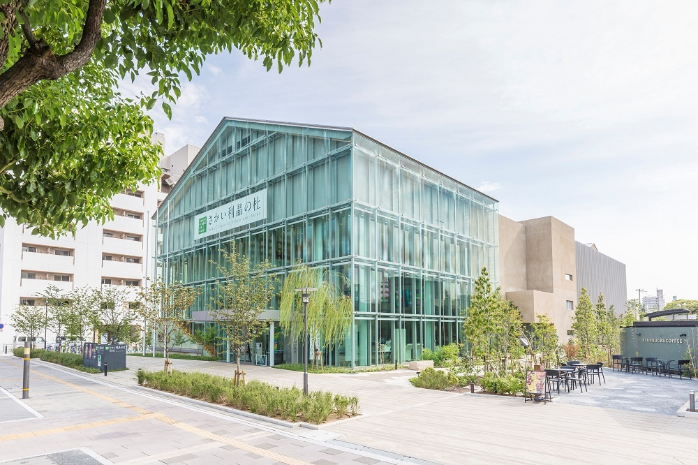 大阪府の与謝野晶子記念館(さかい利晶の杜)