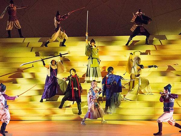 ミュージカル『刀剣乱舞』 トライアル公演より  (C)2015 ミュージカル『刀剣乱舞』製作委員会