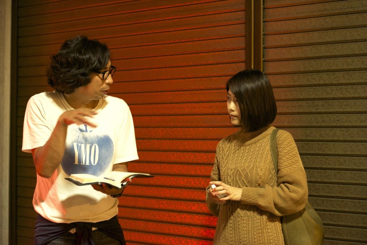 左から、行定勲、有村架純 (C)2017「ナラタージュ」製作委員会