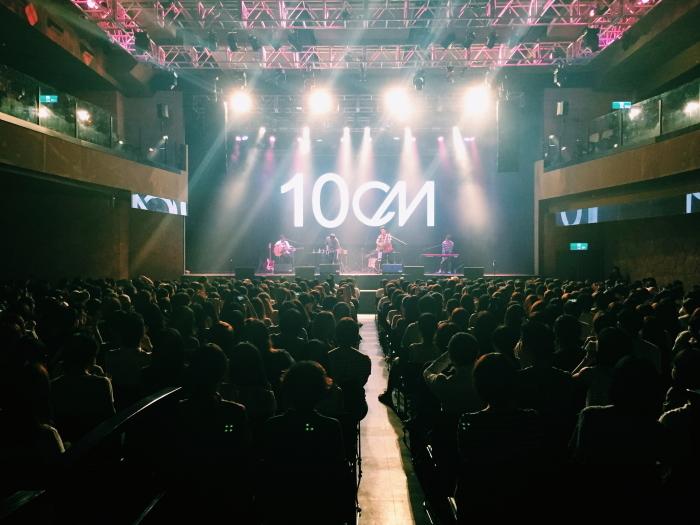 10CM台湾ワンマンライヴ (写真提供:Magic Strawberry)