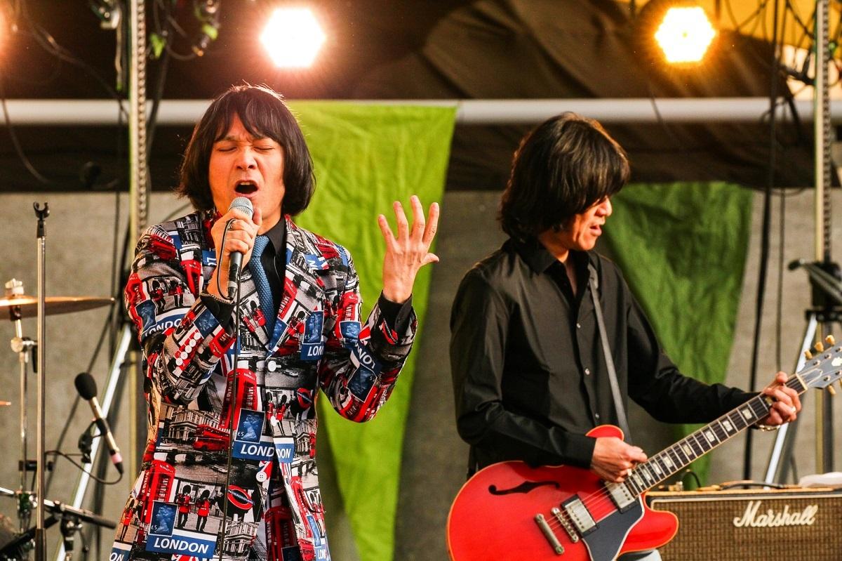 THE COLLECTORS 撮影=KAZUKI WATANABE