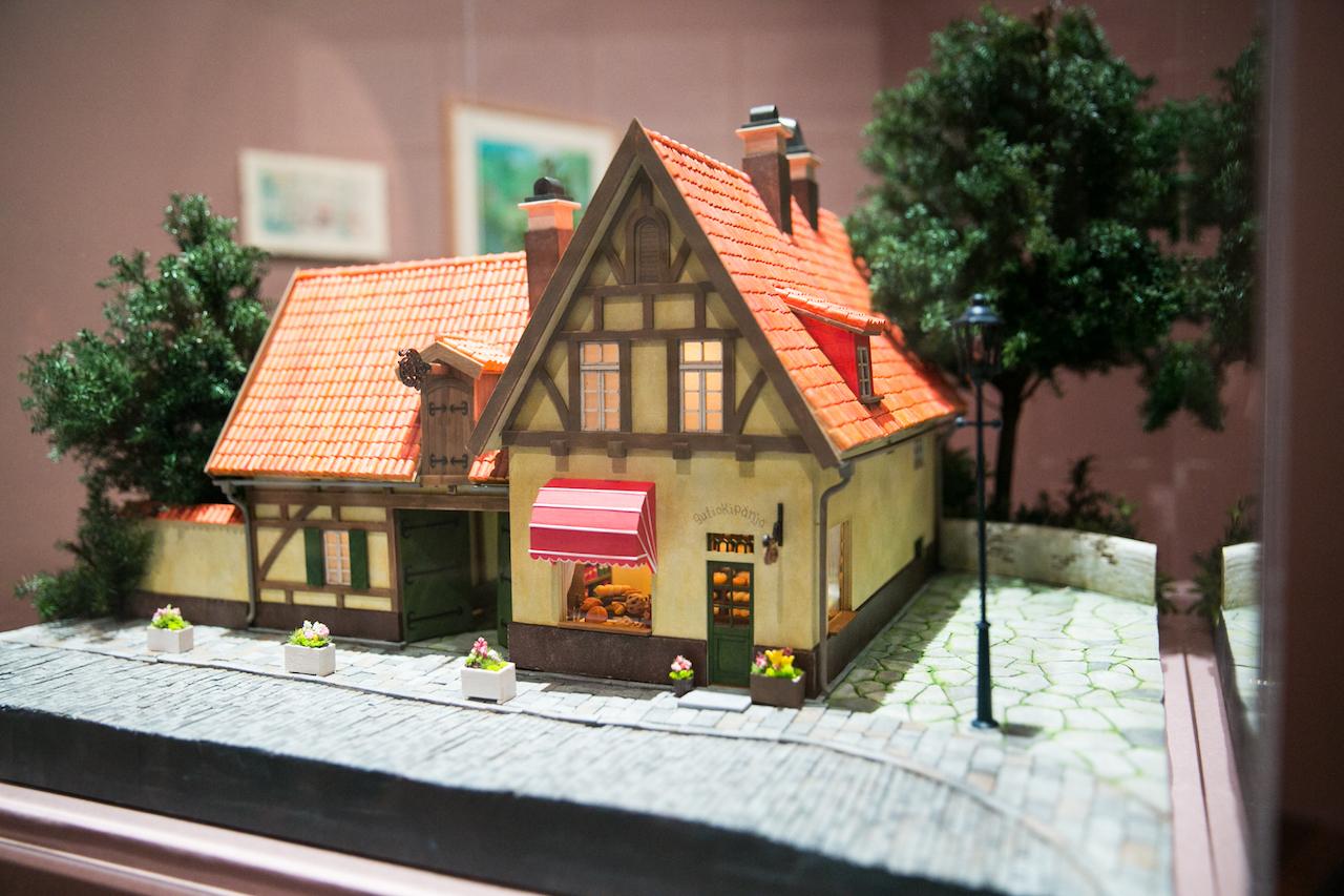 グーチョキパン店 模型(魔女の宅急便) (C)1989 角野栄子 Studio Ghibli・N