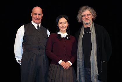 中谷美紀が魅せる三人の女たちの想いとは。舞台「猟銃」公開ゲネプロ・記者会見