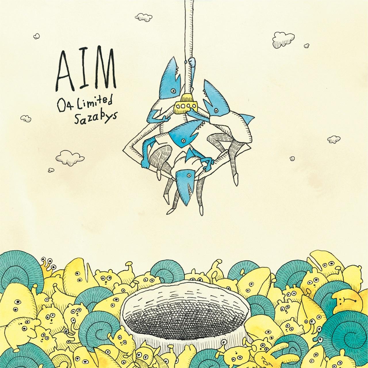 04 Limited Sazabys「AIM」初回盤