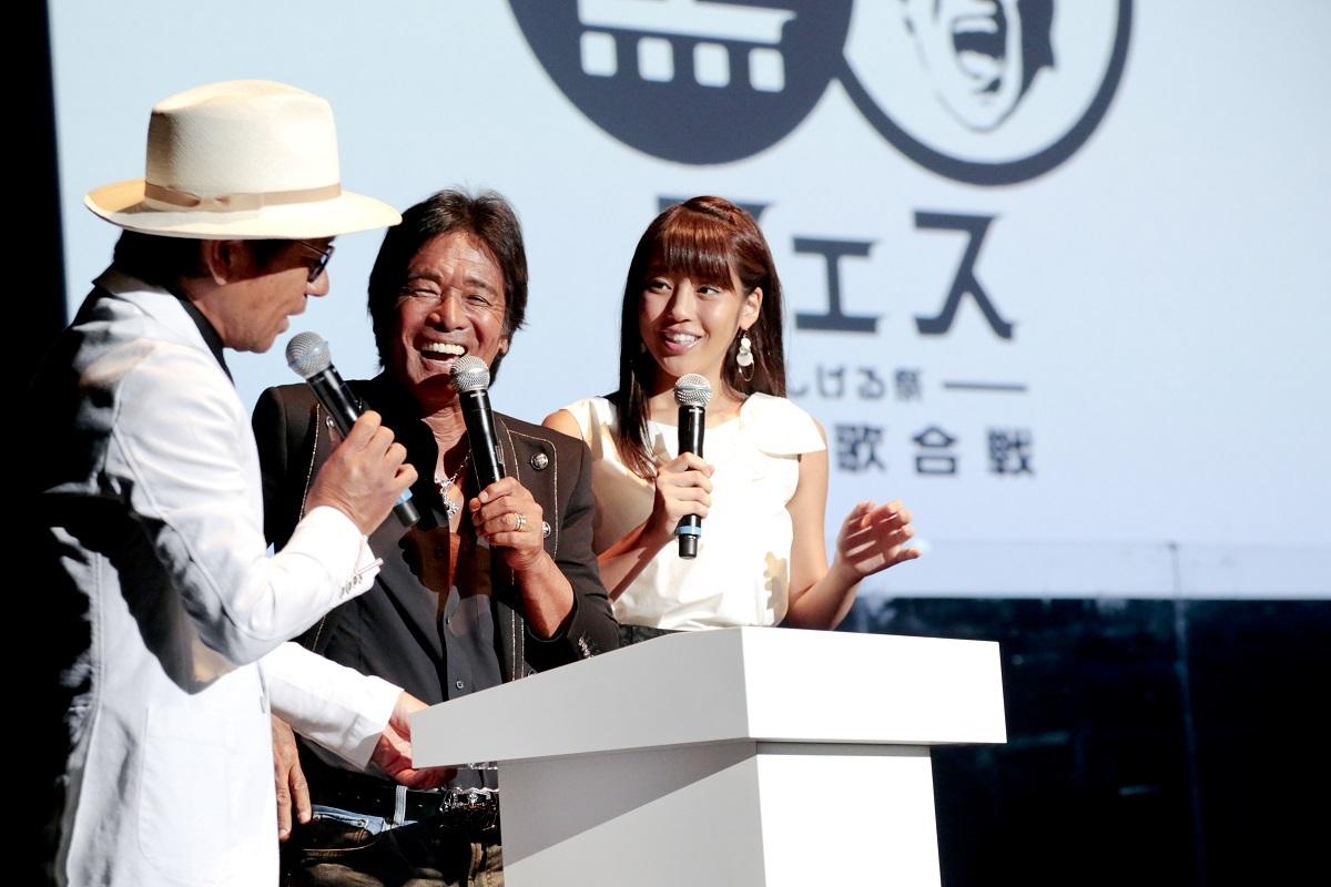 『黒フェス2016』伊津野亮、松崎しげる、岡副麻希