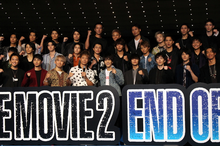 映画『「HiGH&LOW THE MOVIE 2 / END OF SKY』完成披露試写会