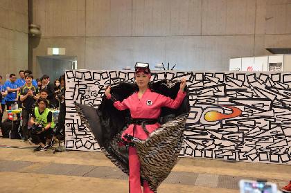小林幸子、賞金総額300万円の大会も開催されるARスポーツ「HADO」を体験! 篠原信一らを撃破