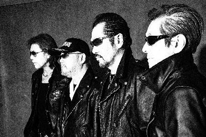 横浜銀蝿 オリジナルメンバー4人で復活、2020年に全国ツアー&アルバム発売