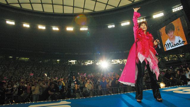 2005年以来の同球場登場となる(※画像は過去に開催された西武スタジアムライブの様子)