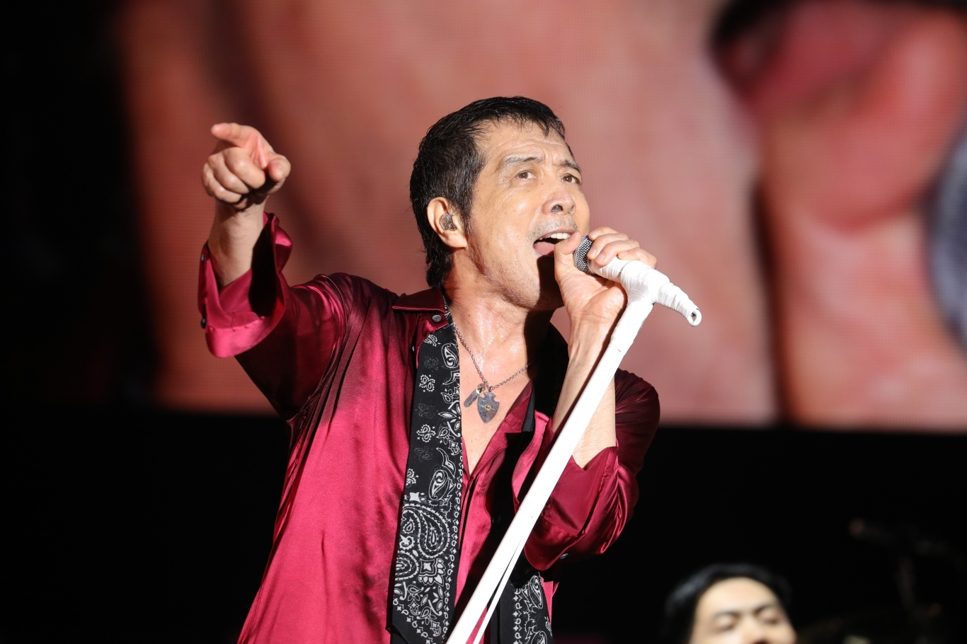 矢沢永吉 PHOTO:ほりたよしか