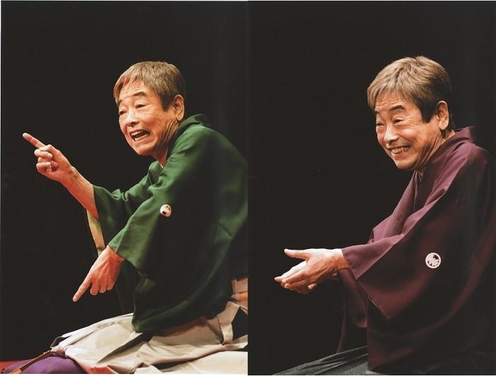 (左から)「鼠穴」、「金玉医者」より (C)2009 談志役場/竹書房、(C)2012 談志役場/竹書房