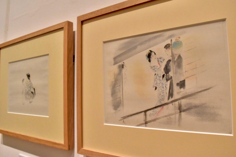 鏑木清方 《にごりえ》(部分) 昭和9年 鎌倉市鏑木清方記念美術館蔵