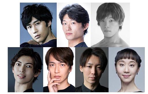 (上段左から)福田圭吾、秋元康臣、池本祥真(下段左から)井澤駿、菊地研、長瀬直義、米沢唯