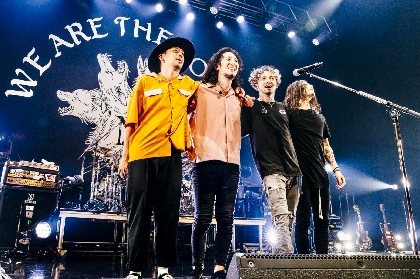 The BONEZ、約2年ぶりのツアーを完走 5月29日には追加公演が決定