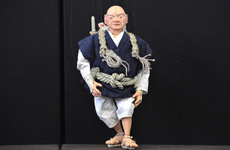 『高丘親王航海記』安展(あんてん)の人形。