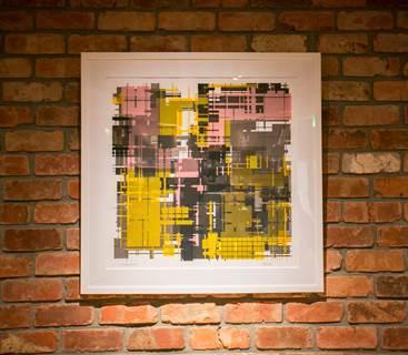 展示されるアート作品にも注目してほしい。取材時は、オランダ・アムステルダムのグラフィティアーティストのゼッツ(ZEDZ)によるものが飾られていた。