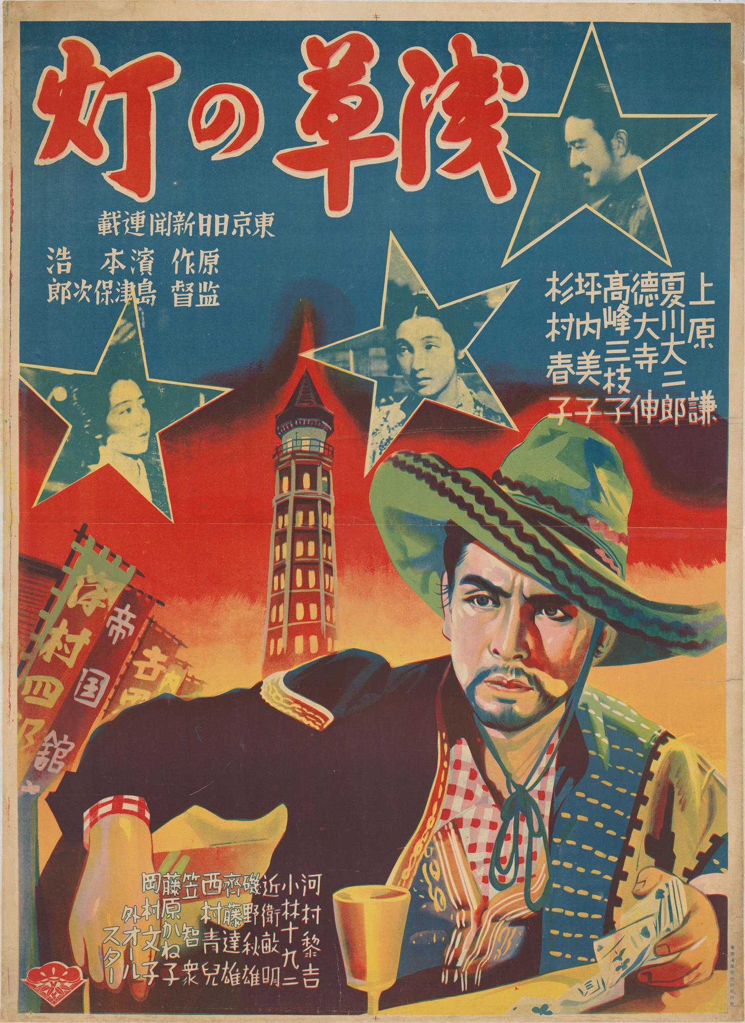 『浅草の灯』(1937年、島津保次郎監督)