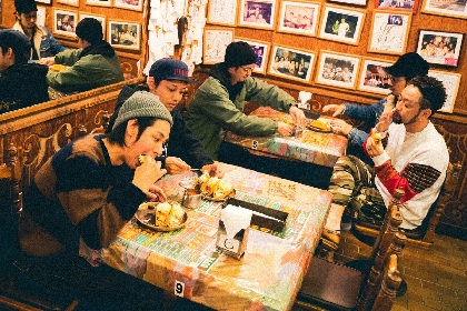 ORANGE RANGE 「#寿司蓮司」開店、歴代ライブ映像を5週連続YouTube公開