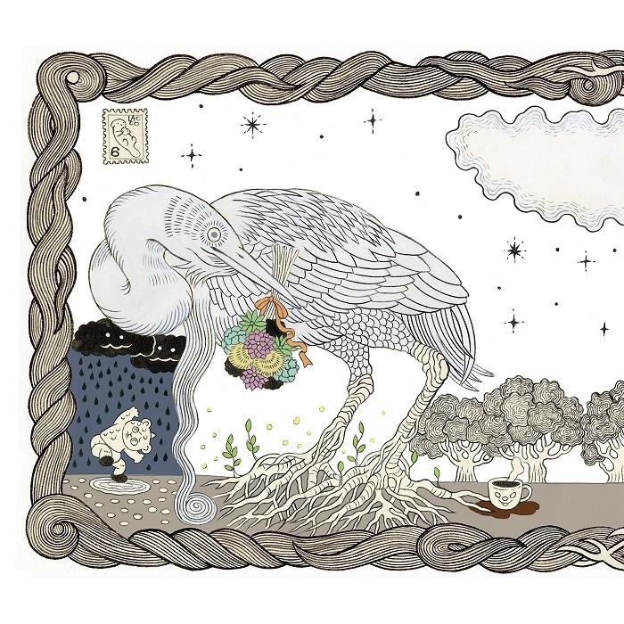 『闇夜に烏、雪に鷺』白盤