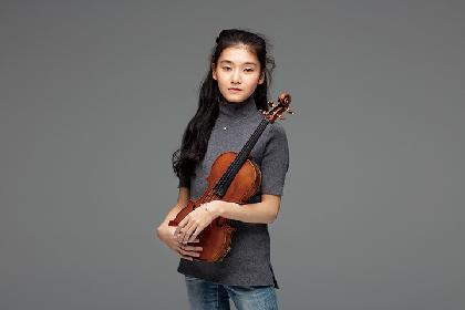 服部百音(ヴァイオリン) 素晴らしい音楽への集中力を持った新星が登場!