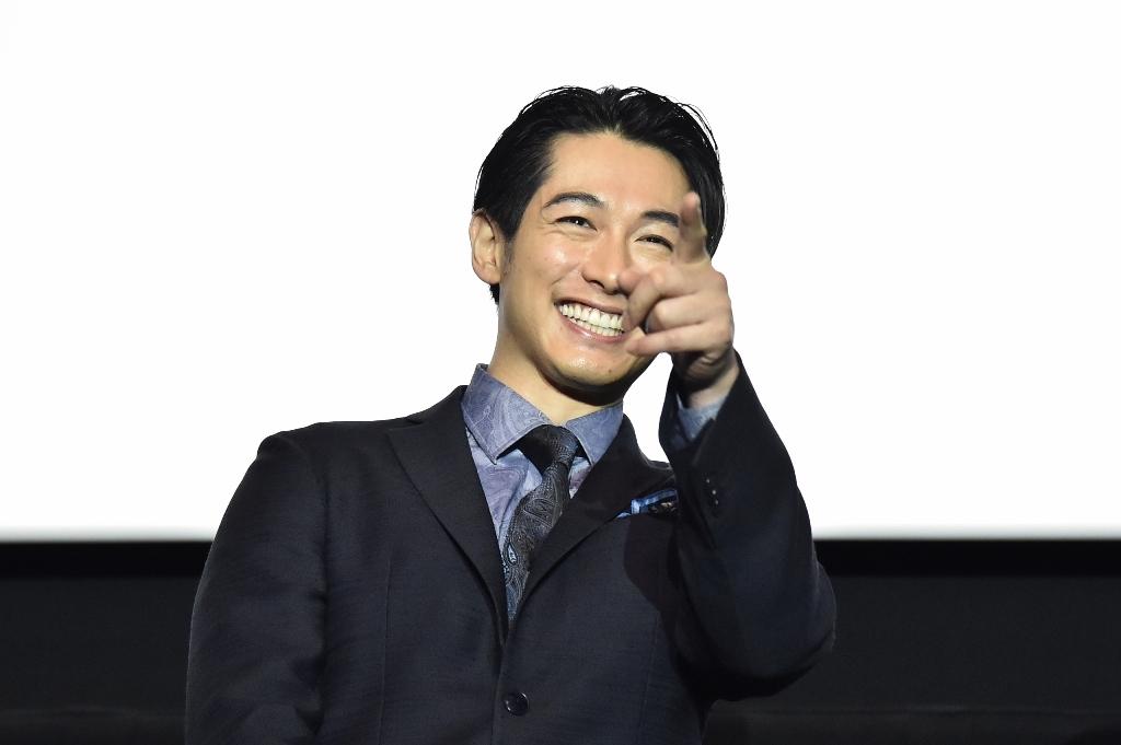 映画『結婚』大阪舞台挨拶 ディーン・フジオカ