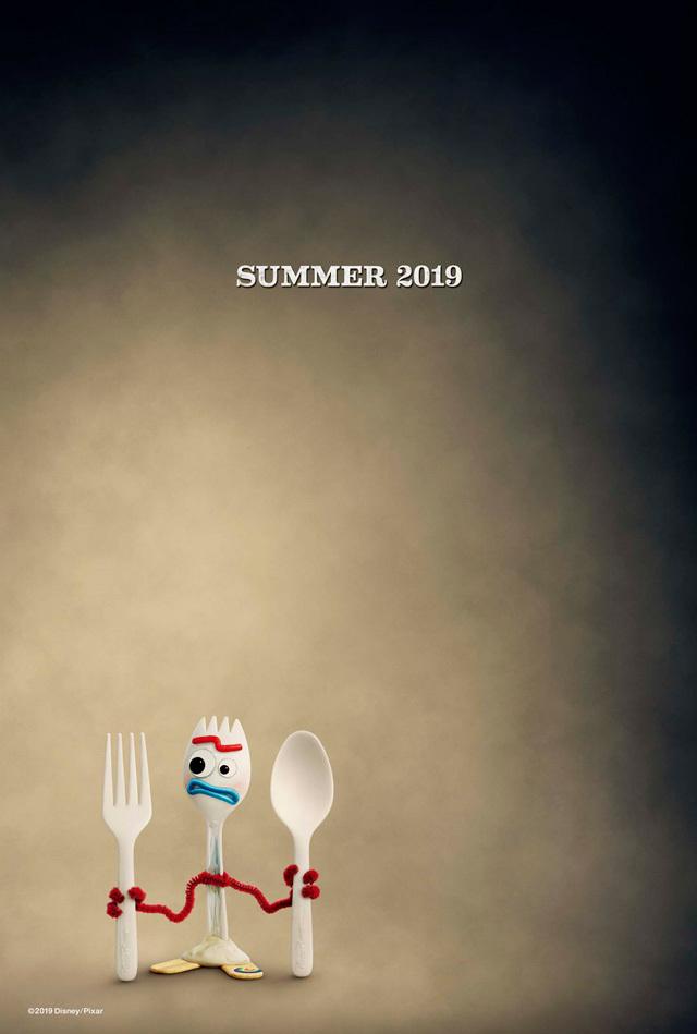 フォーキー (C)2019 Disney/Pixar. All Rights Reserved.