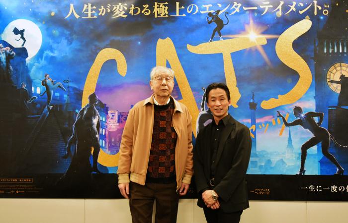 (左から)安部寧氏、堀内元氏