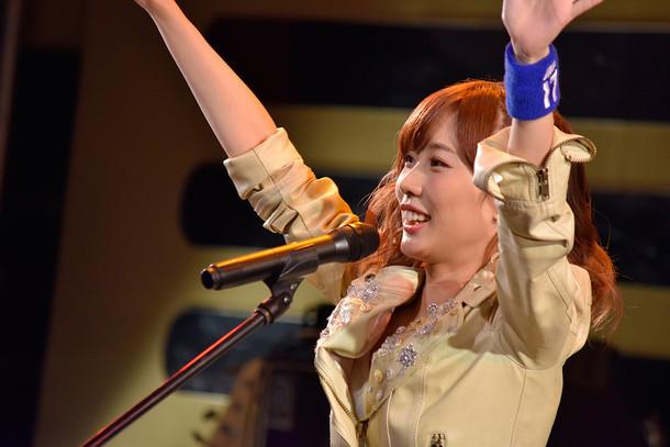 楠田亜衣奈デビュー記念イベント「First Sweet Wave」11月7日昼公演の様子。(写真提供:VAP)